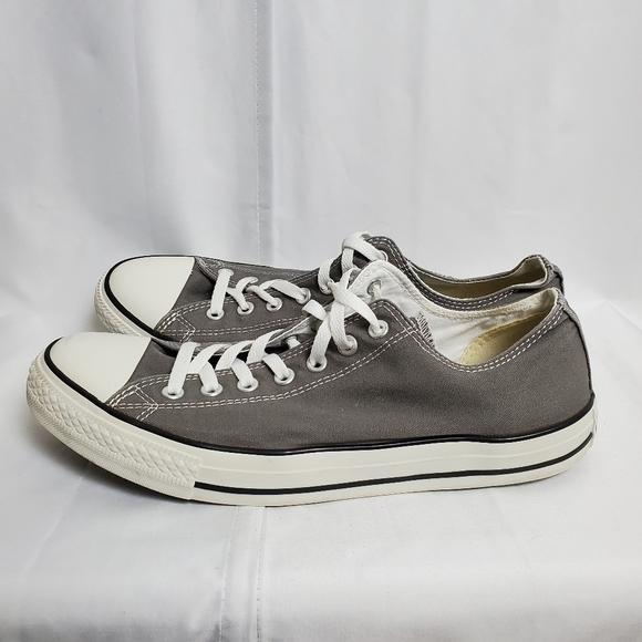 Converse Grey Sneakers SZ 11 Men/ 13 Women